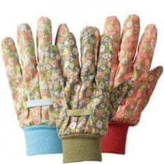 Briers ženske rokavice M, bombažne, 3 kosi