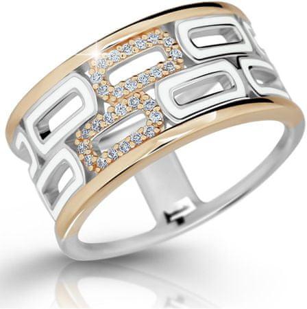 Modesi Ekskluziven srebrni prstan M11074 (Obseg 58 mm) srebro 925/1000