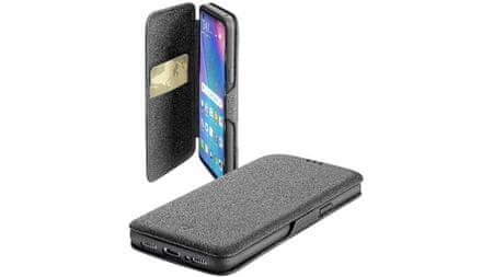 CellularLine preklopna torbica s magnetom Book Clutch za Huawei P30 Pro, crna