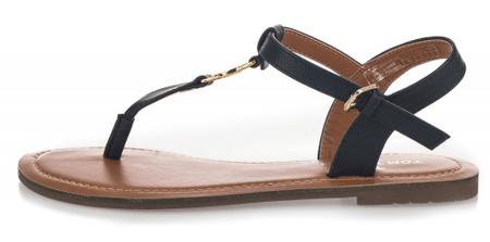 Tom Tailor dámske sandále 41 tmavomodrá