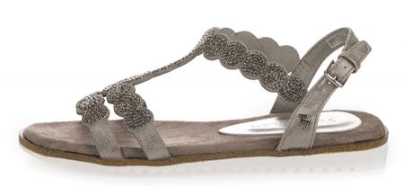 Tom Tailor dámské sandály 38 šedá
