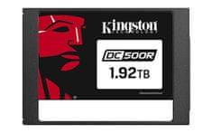 """Kingston SSD disk 1920 GB DC500R, 2,5"""", SATA3.0, 555/525 MB/s, za podatkovne centre"""
