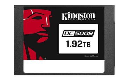 """Kingston SSD 1920 GB DC500R, 2,5"""", SATA3.0, 555/525 MB/s, za podatkovne centre"""