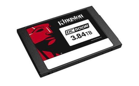 """Kingston SSD disk 3840 GB DC500R, 2,5"""", SATA3.0, 555/520 MB/s, za podatkovne centre"""
