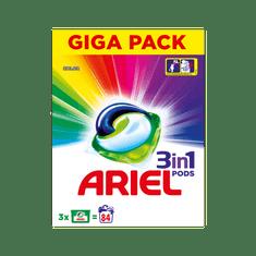 Ariel gel kapsule Color 3v1, 84 kosov