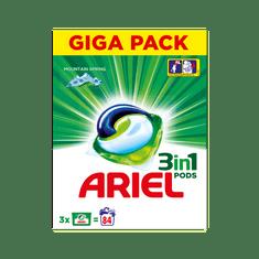 Ariel gel kapsule Mountain Spring 3v1, 84 kosov