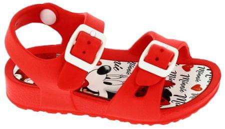 Disney by Arnetta sandały dziewczęce Minnie 34 czerwone