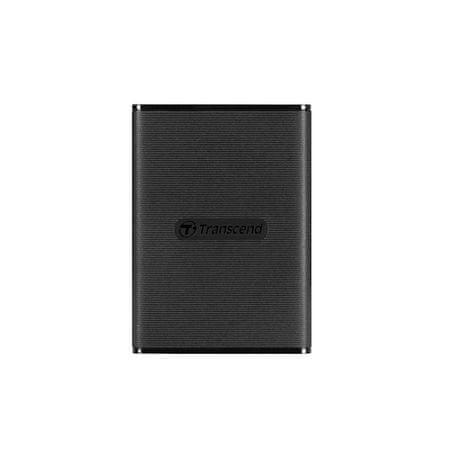 Transcend SSD disk EXT 240GB ESD230C, USB 3.1, 520/460MB/s, velikost kreditne kartice