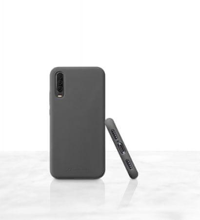 CellularLine silikonska zaščita za Huawei P30, črna