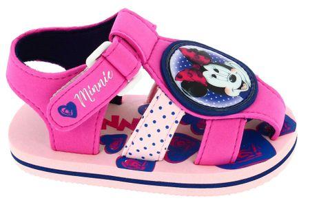 Disney by Arnetta dječje papuče Minnie, 24, ružičaste