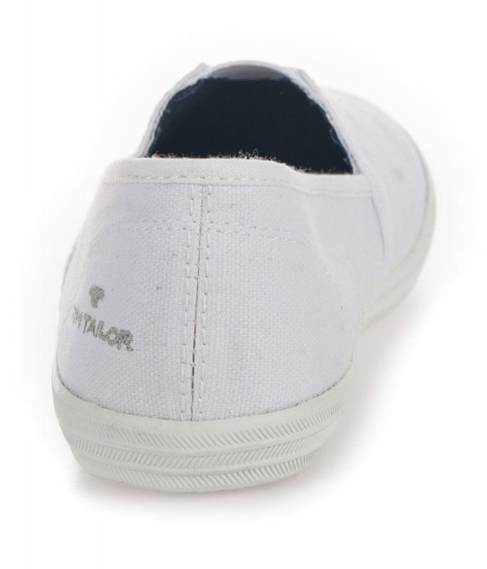 Tom Tailor női slip on tornacipő 39 fehér | MALL.HU
