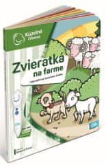 Albi KÚZELNÉ ČÍTANIE Kniha Zvieratká na statku SK