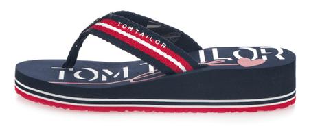 Tom Tailor női flip-flop 39 sötétkék