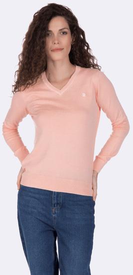 Giorgio Di Mare dámský svetr XL lososová