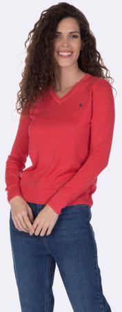 Giorgio Di Mare ženski pulover, XL, rdeč