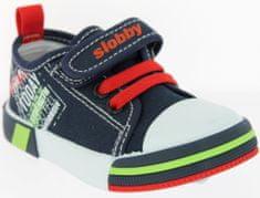V+J fiú tornacipő felirattal