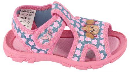 Disney by Arnetta sandały dziewczęce Paw Patrol 21 różowe