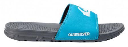 Quiksilver Férfi papucsShoreline Grey/Blue/Grey AQYL100885-XSBS (méret 44)