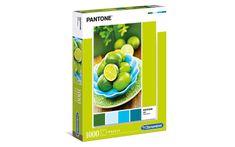 Clementoni slagalica HQC Collection - Pantone Lime - Punch, 1000 komada, 39492