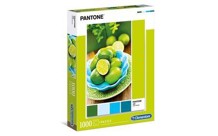 Clementoni sestavljanka HQC Collection - Pantone Lime- Punch, 1000 kosov, 39492