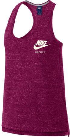 Nike ženska majica W Nsw Gym Vntg Tank, True Berry Sail, crvena, L