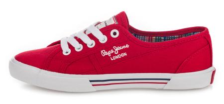 Pepe Jeans női sportcipő Aberlady Basic 17 39 piros
