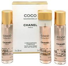 Chanel Coco Mademoiselle - EDT - náplň (3 x 20 ml)