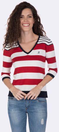 Giorgio Di Mare ženski pulover, M, rdeč