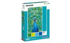 Clementoni slagalica HQC Collection - Pantone - Peacock, plava, 39495