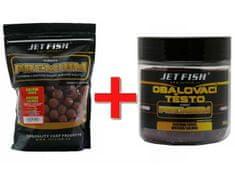 Jet Fish Boilie Premium Clasicc 5 kg 20 mm + Obalovací Těsto Zdarma