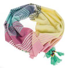 Pepe Jeans dámský vícebarevný šátek Vega Scarf