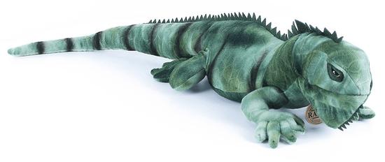 Rappa Plyšový leguán zelený, 70 cm