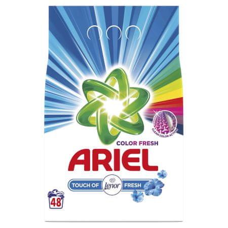 Ariel pralni prašek Touch of Lenor, za 48 pranj, 3,6 kg