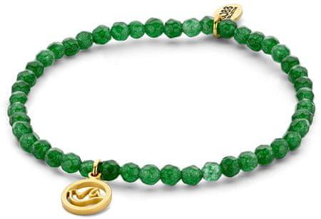 CO88 Zielony jadeit bransoletka z dove 865-180-090169-0000