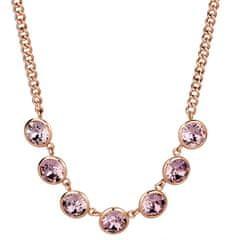 Brosway Oceľový náhrdelník s kryštálmi Swarovski N-Tring BTN31