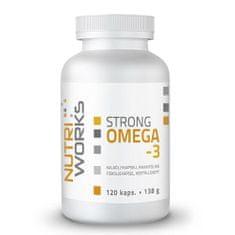 NutriWorks Strong Omega 3 120 kapslí