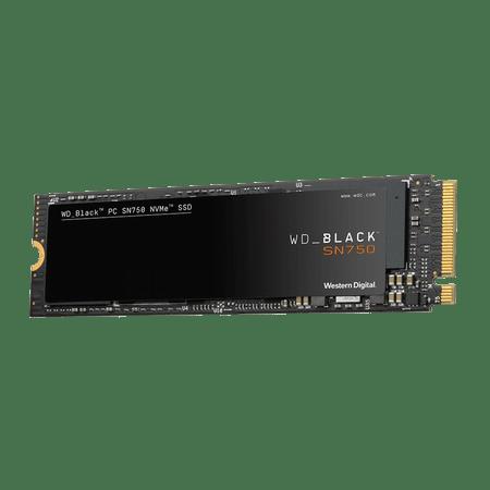 Western Digital SSD disk BLACK SN750 500 GB, M.2 NVMe x4