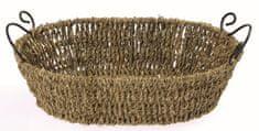 Domy okrogla košara z inox ročaji