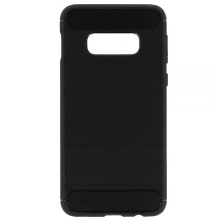 Silikonski ovitek za Samsung Galaxy S10 G973 - mat carbon črn