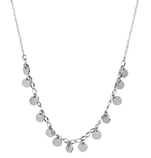 Troli Ocelový náhrdelník s penízky