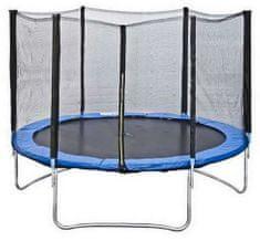 Too Much trampolin z zaščitno mrežo, 244 cm (3 noge, 6 palic)