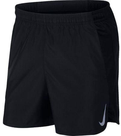 Nike moške kratke hlače M Nk Chllgr Short 5In Bf Black Black Reflective Silv, XL