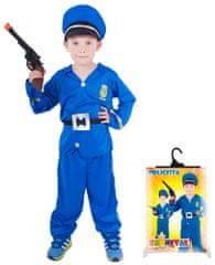 Rappa Karnevalový kostým policista vel. S