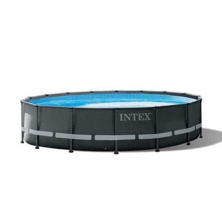 Intex bazen Ultra 26326NP, 488x122cm, z okvirjem