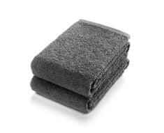Möve Frottana Set 2 ručníků 50 x 100 cm, antracitová