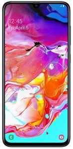 Samsung Galaxy A70, Super AMOLED Infinity-U bezrámečkový displej, velký.