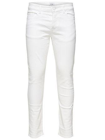 """ONLY&SONS Męskie spodnie Loom Col Pk 2438 """"32 White (rozmiar 28)"""