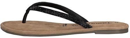 Tamaris Női Flip Flops 1-1-27124-22-047 Black Glam (méret 36)