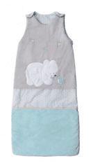 Tinéo Spací vak 80-100 cm Polárny medvedík