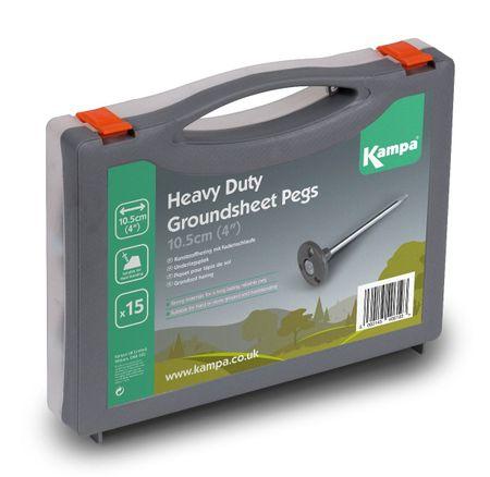 Kampa set klinov Heavy Duty Groundsheet Peg Pack